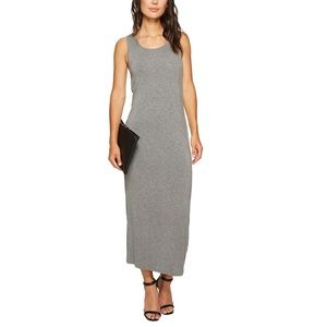 Kensie Open Back Tank Top Midi Jersey Dress NWT